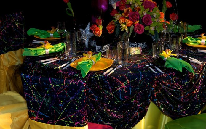 Mimi co for 80 s table decoration ideas