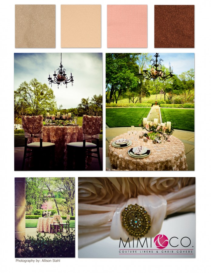 CHAMPAGNE BLUSH CHOC COLLAGE