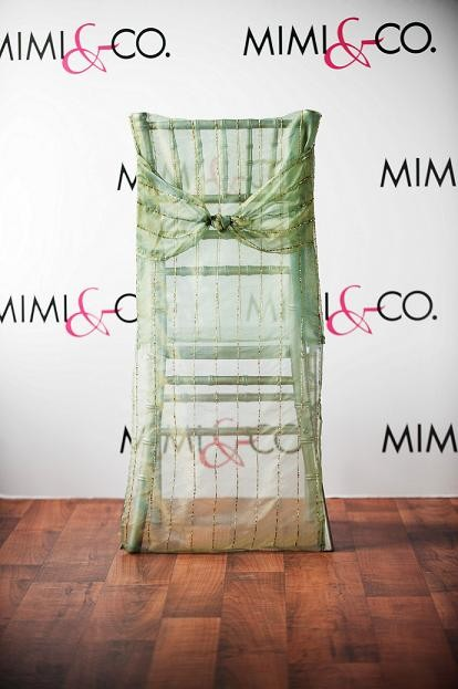 Green Sheer Chairback