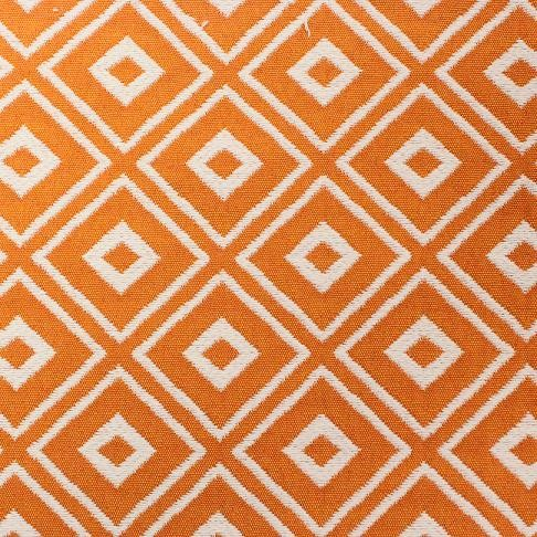 Mosaic Dots in Orange