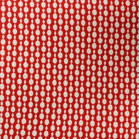 Mosaic Dots in Red