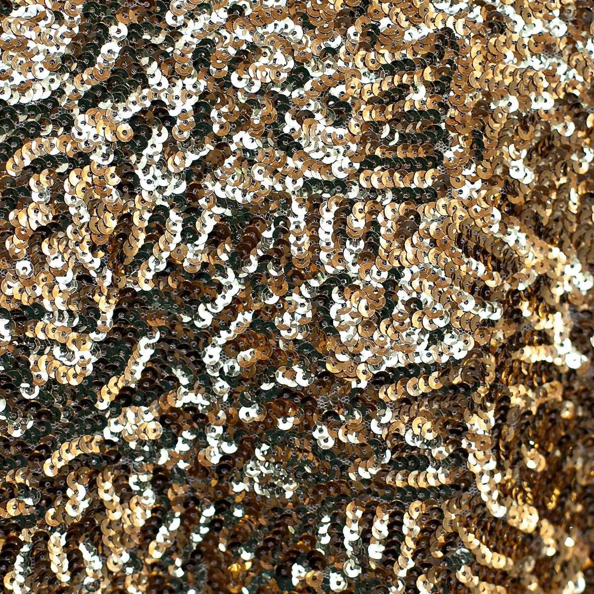 Gold Sparkle Sequins