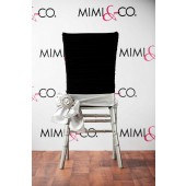 Black Manhattan Chair Cap