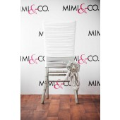White Manhattan Chair Cap