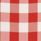 Checkered Red & White