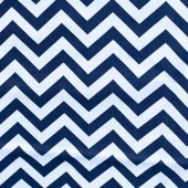 Chevron in Navy Blue