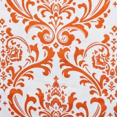 Damask in Orange